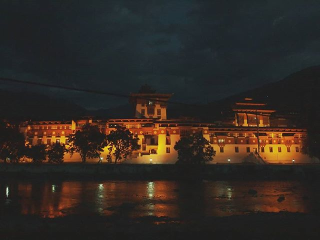 Throwback to the time in this gorgeous little village called Punakha.