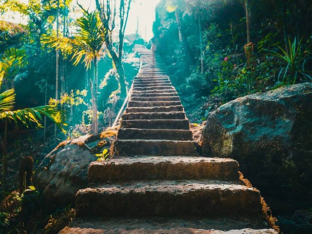 Stairway to heaven? Could be:)