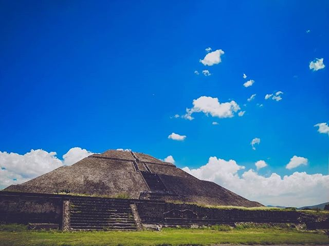 The giant pyramid-shaped structures always felt magical…